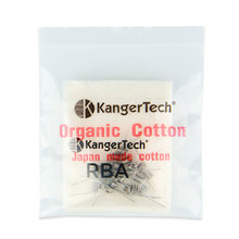 100% Original 20pcs Kangertech Subtank Mini RBA DIY OCC Coils 0.5ohm and 2pcs Organic Cotton Kanger Organic Cotton Coil (OCC)