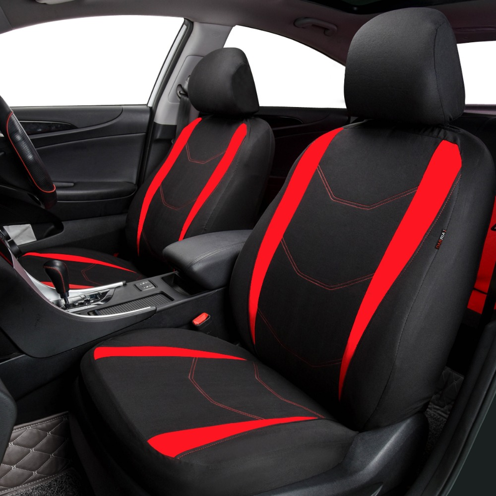 Wesheu Car Covers Full Car Seat Cover Universal Auto Interior Accessories Gray Blue Red Car Seat Protector With 2mm Foam Covers