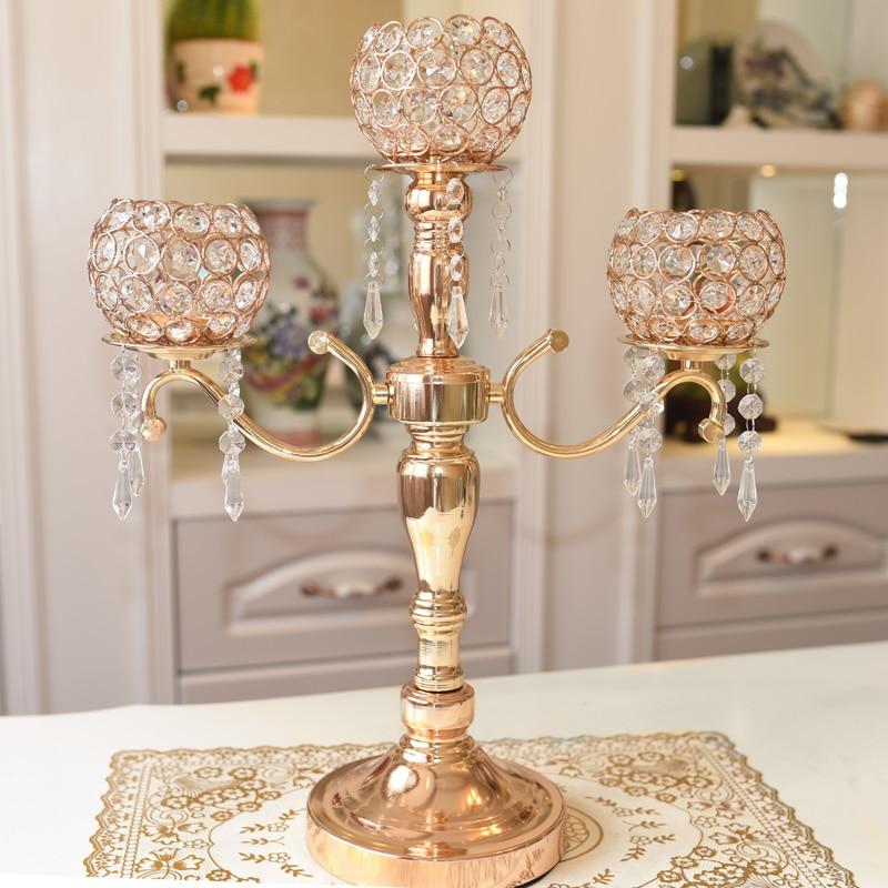 Сплав Фонари висит капля Кристалл подсвечник украшения дома свадебные хрустальные канделябры Подсвечник