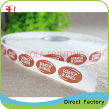 Customized self adhesive label sticker,packing adhesive label , label sticker made in China
