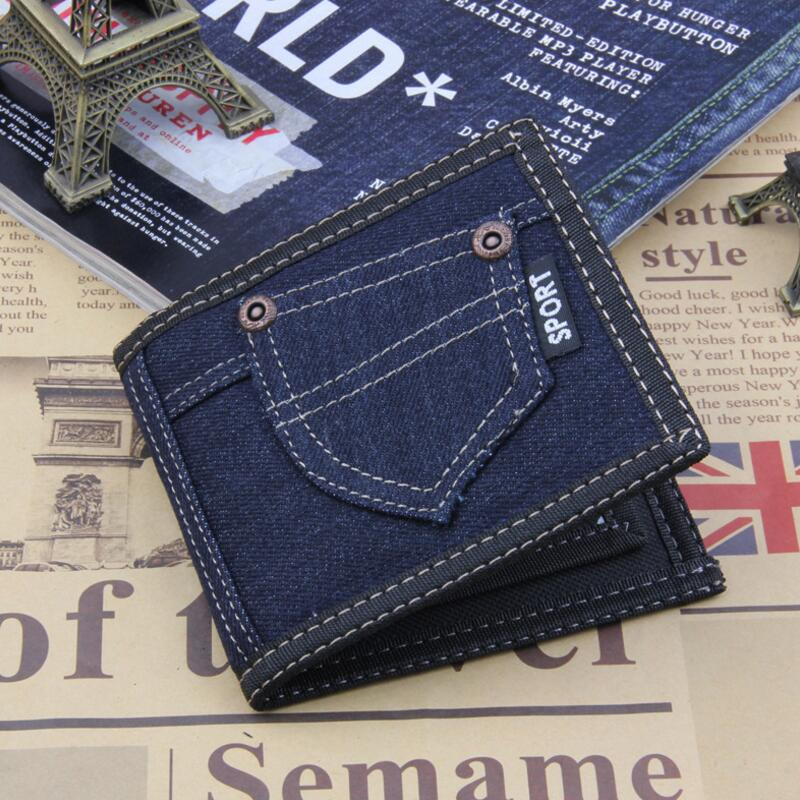 Hot Promotion! 2018 Vintage Man Wallet Male Top Quality Canves Thin Soft Wallets Zipper Money Card Holder Purses for Men
