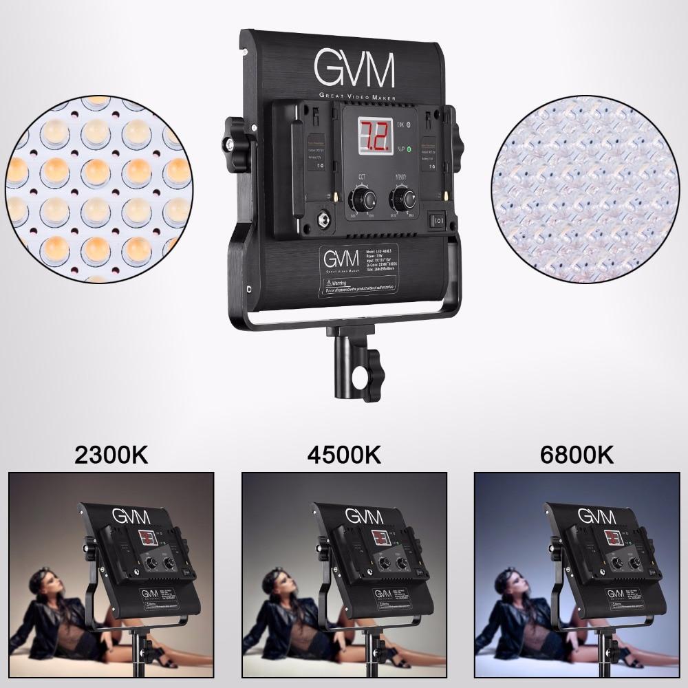 Здесь продается  GVM-480LS 29W LED Video Light With Digital Display 480 LED Beads CRI97 Bi-Color 2300K-6800K Light For Video And Photography  Бытовая электроника