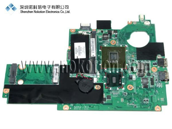 NOKOTION 591248-001 for HP MINI 311 Motherboard INTEL N270 Mainboard GOOD Quality 100% test