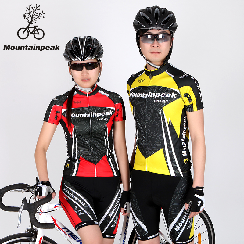Mountainpeak Cycling Wear Short Sleeved Suit Jacket Shorts Riding Bicycle and Summer Equipment Cycling Jersey