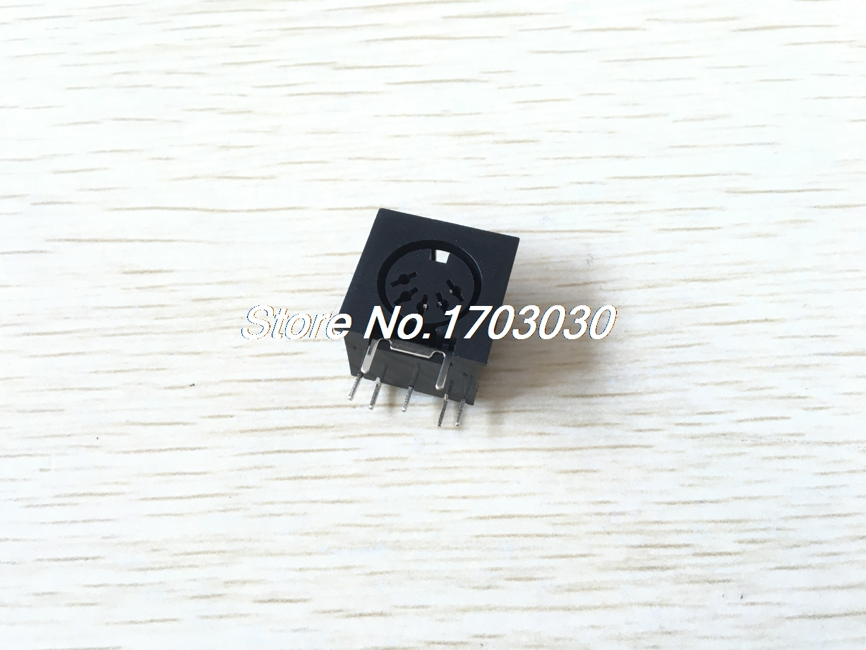 10Pcs PCB Panel Mount MIDI Female DIN5 DIN 5-Pin Jack D501 2pcs pcb panel mount midi female din5 din 5 pin jack d501