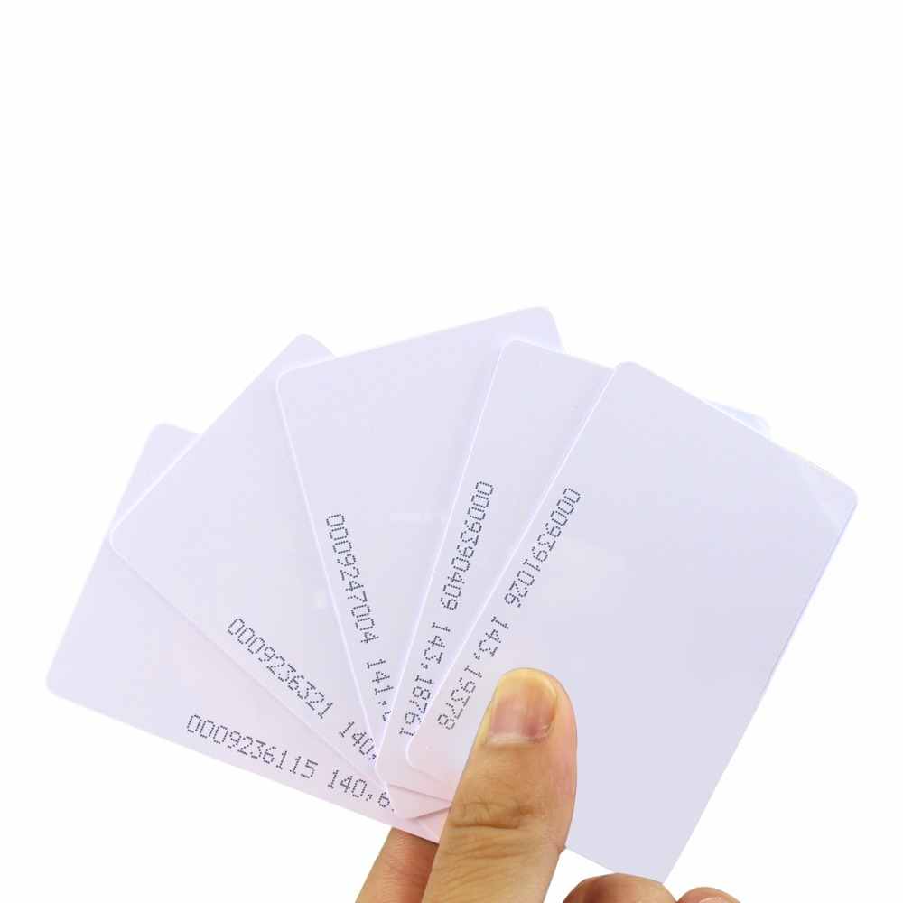 10pcs RFID 125KHz Proximity Door Control Entry Access EM Card F1237B