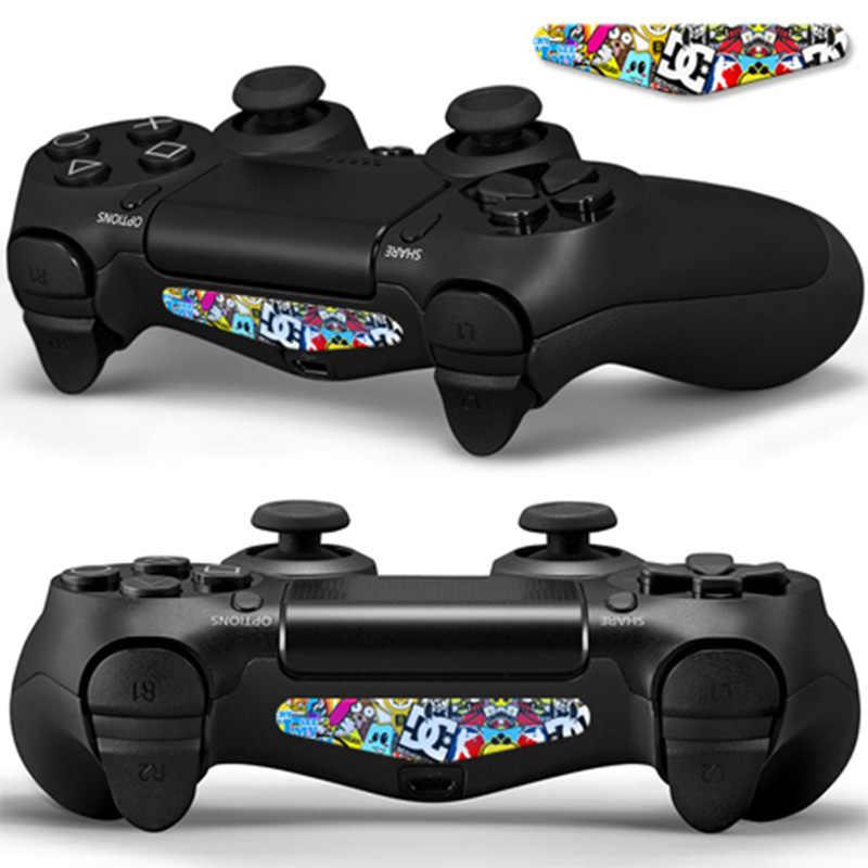 2PCS/lot LED Light Bar Skin Sticker For Playstation4 PS4 Custom Decal Game Light Bar Sticker For PS4 Dualshock Controller