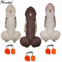 Олень ночь костюм на Хэллоуин косплэй надувной Уилли костюмы для взрослых нарядное платье пенис Пикантные костюм аниме Disfraces Adultos