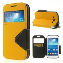 For samsung galaxy grand neo case Roar Korea View Window Wallet Leather Case for Samsung Galaxy Grand Neo i9082 i9060 I9062 Capa