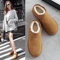 2016 Ankle Ugs Women Australia Boots Cheap Ladies Ugc Snowboots Snow Moccasin Fur Ankle Winter Boots Designer Platform Botas