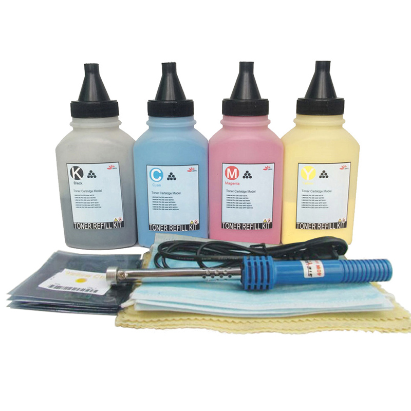 Toner Refill Kit Chips for HP 410a CF410a -CF413a Laserjet MFP M477 M477fnw M477fdw M477fdn M452 M452dn M452nw M452dw Compatible cf410 cf410a cf411a cf412a cf413a toner cartridge chip for hp m452dw m452 m452nw mfp m477 m477fdn m477fdw m377 refill reset