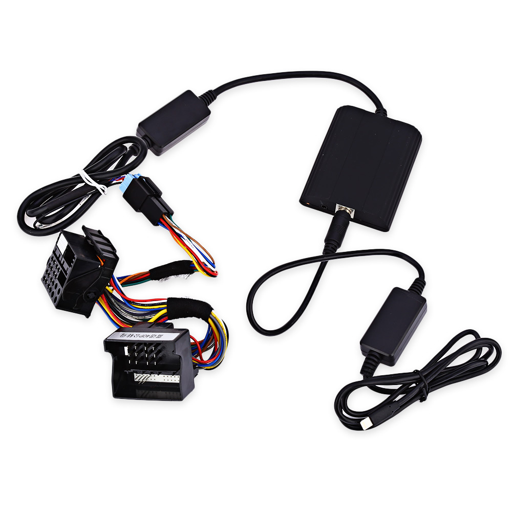 WT IP5 Automobile Charger Adapter 12 Pin Vehicle MP3 Player Digital CD Box IP5 Interface Adapter for Renault