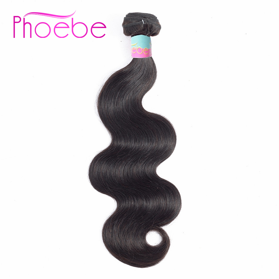 Phoebe Pre-colored Hair Weaves Body Wave Bundles Brazilian Hair 8-30Inch Bundles Non Remy Human Hair Extensiones For Black Women