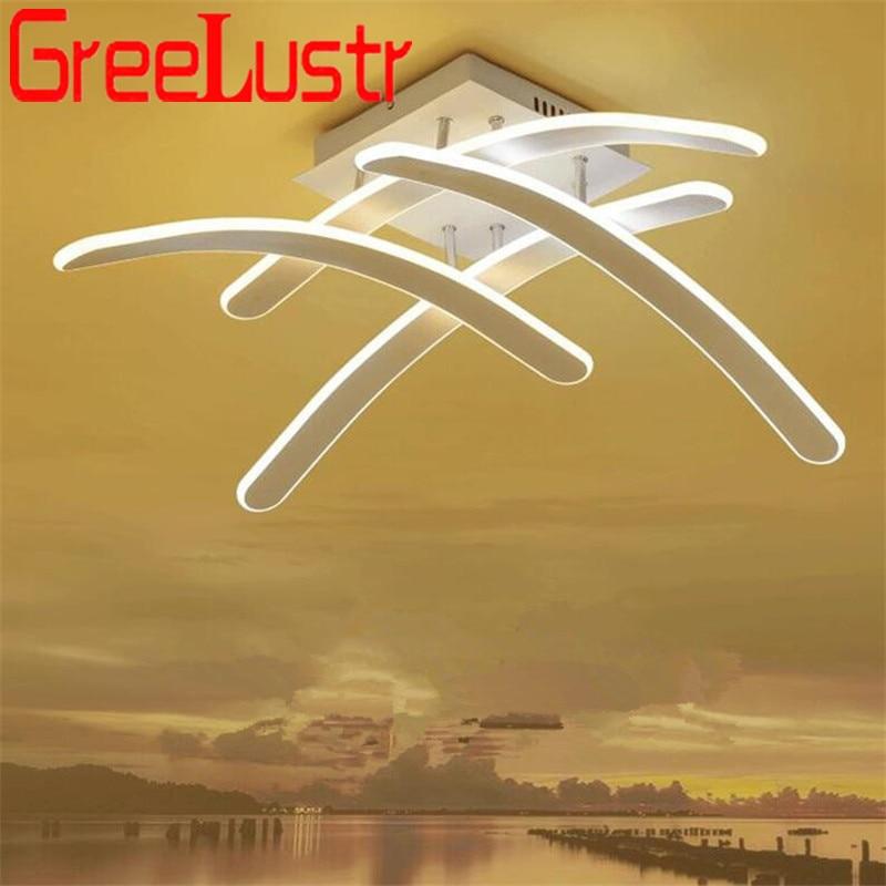 Modernes Design Led Decke licht Kreative Aluminium Dimmen Decke Lampe Lustre Für schlafzimmer Küche Glanz Plafon leuchten