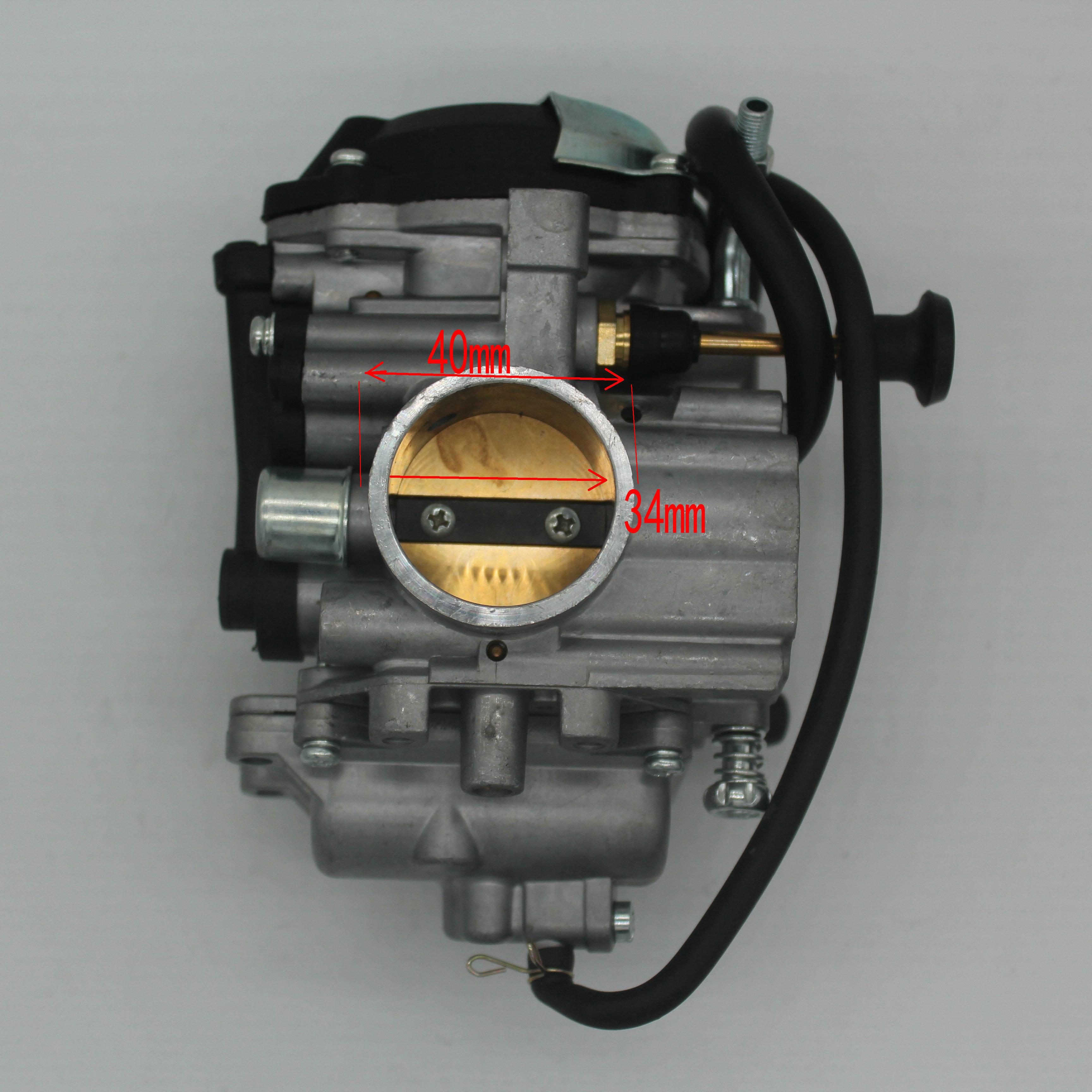 PD34J 34mm carburateur De Moto pour YAMAHA OURS TRACEUR 250 YFM250 YFM250 VTT 1999-2002 2003 2004 2005 Moto Accwssories