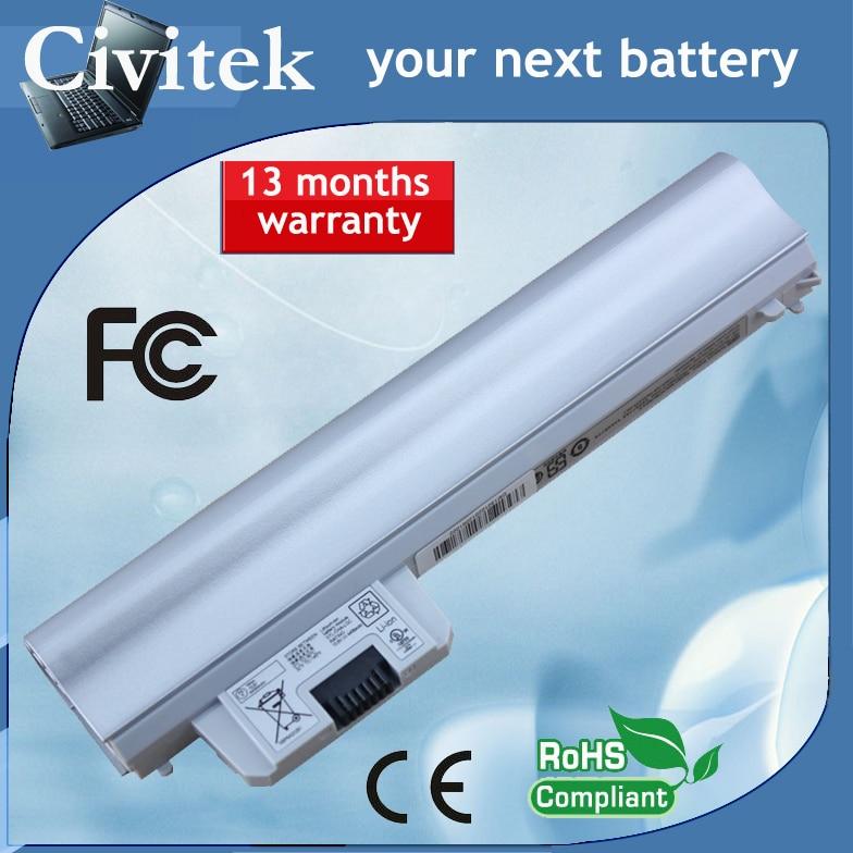 Silver batteri till HP Pavilion DM1-3000 DM1-3010 GB06055-CL HSTNN-E05C HSTNN-OB2D HSTNN-YB2D 628419-001 626869-851 XQ504AA