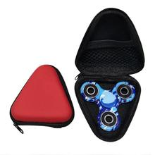 2017 Travel Accessories Spinner Box Case for Dustproof LED light Hand Spinner EDC Fidget Spinner Focus Fingertip Gyro Kids Toys