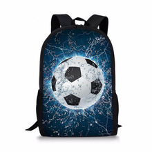 цена на Boys Backpacks Kindergarten School Bag for Kids Girls Foot Ball Schoolbag Student Book bags Children Mini mochila infantil