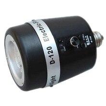 Yidoble 32GN 120WS 5600 K Photo Studio Strobe Flash de Luz, Lâmpada de Iluminação E27 AC Mestre Escravo