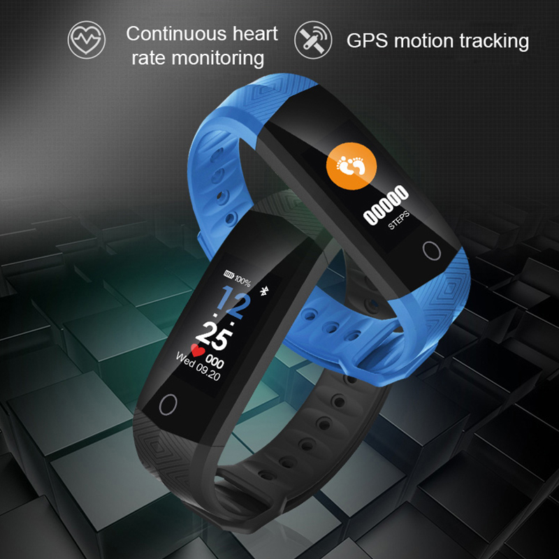 OGEDA Sport Bracelet Watch Women CD02 Smart Wrist Band Heart Rate PPG Sedentary Reminder Watches Intelligent for IOS Android