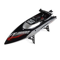 Feilun FT012 2.4G RC Boat 45km/h High Speed Racing Boat Speedboat Ship Brushless Motor Water Cooling System Flipped RTR US/EU