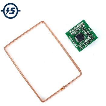 RFID Drahtlose Modul 134,2 KHz FDX-B EM4305 Reader UART Kontaktlose Controller w/Antenne