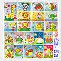 12 unids/lote 2016 Lindo DIY Hecho A Mano 3D autoadhesivas Eva Foam Puzzle Pegatina Eva Artesanía Juguetes Didácticos y Educativos juguetes 17.5*12.5 cm