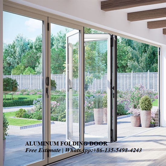 Home Economic Aluminium Balcony Folding Glass Door Prices, Aluminum Alloy Sheet Patio Door,interior Door