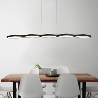 New Creative modern LED pendant lights Kitchen acrylic suspension ceiling hanging lamp for dinning room lamparas colgantes