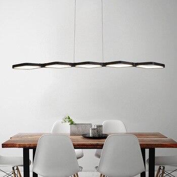 Nuevo creativo moderno LED colgante luces cocina acrílico suspensión techo  lámpara para comedor habitación lamparas con palo