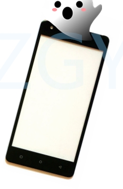 ZGY Touch Screen Digitizer Front Glass Touch Panel Sensor For Just5 Freedom M303 Touchscreen Replacement(China)