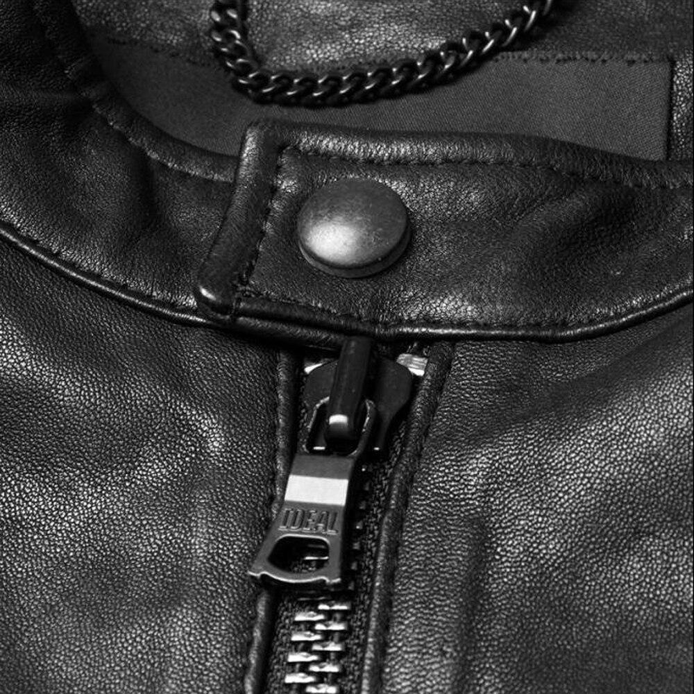 100Naturel En Hommes Manteau Peau Garanti Printemps Véritable Veste Mode Vêtements De Mouton Cuir xBCeEdWQro