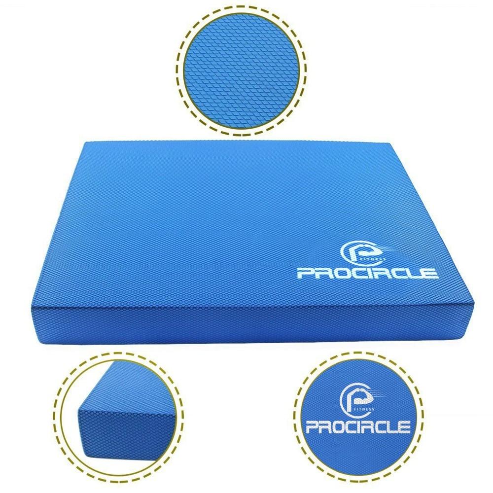 ProCircle Balance Pad - Blå Ikke Slidt Yoga Pad - Har Bare Til Yogis - Fitness og bodybuilding - Foto 5