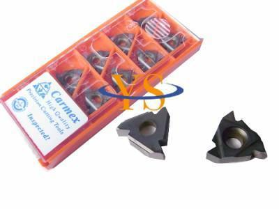 10PCS Carmex External Thread Carbide insert 16ER 1.5mm ISO BMA CNC carbide inserts  lathe inserts10PCS Carmex External Thread Carbide insert 16ER 1.5mm ISO BMA CNC carbide inserts  lathe inserts