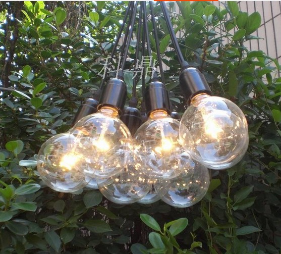 Vintage Edison light bulb E27 lamp cluster chandelier lighting lamps ...