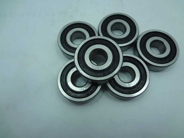 6001-2RS rubber seal bearing 6001 rs bearings 12x28x8 mm