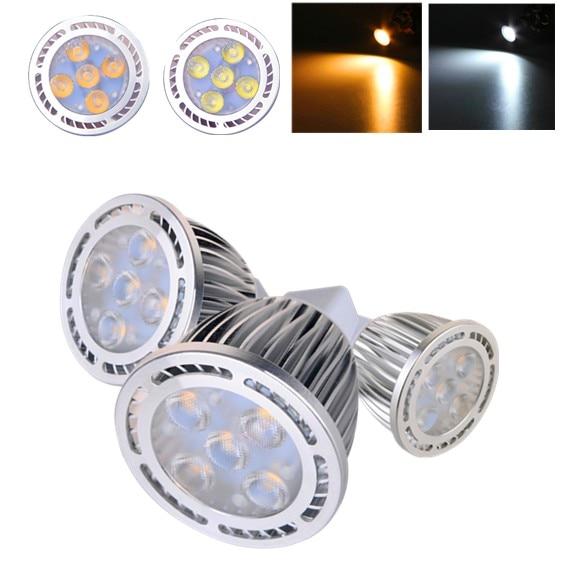 MR16 5W AC / DC 12V 3030 SMD LED Bulb Lamp Warm White / White Light LED Bulb for Home Decoration Lighting