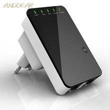 Ретранслятор Wifi беспроводной маршрутизатор расширитель AP усилитель LAN клиентский мост IEEE802.11b/g/n EU штекер Wi fi Roteador