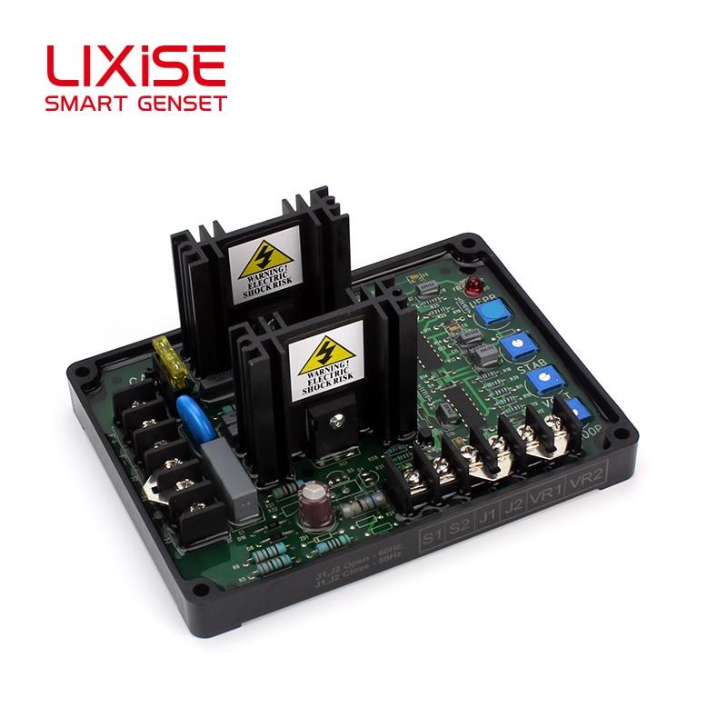 Генератор Lixise avr 20A Универсальный автоматический регулятор напряжения