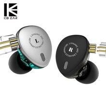 KBEAR KB06 2BA + 1DD Hybrid In Ohr Kopfhörer 6 Treiber HIFI DJ Monitor Kopfhörer Earbuds Mit 2PIN Kabel Metall ohrhörer KBEAR F1/KB10