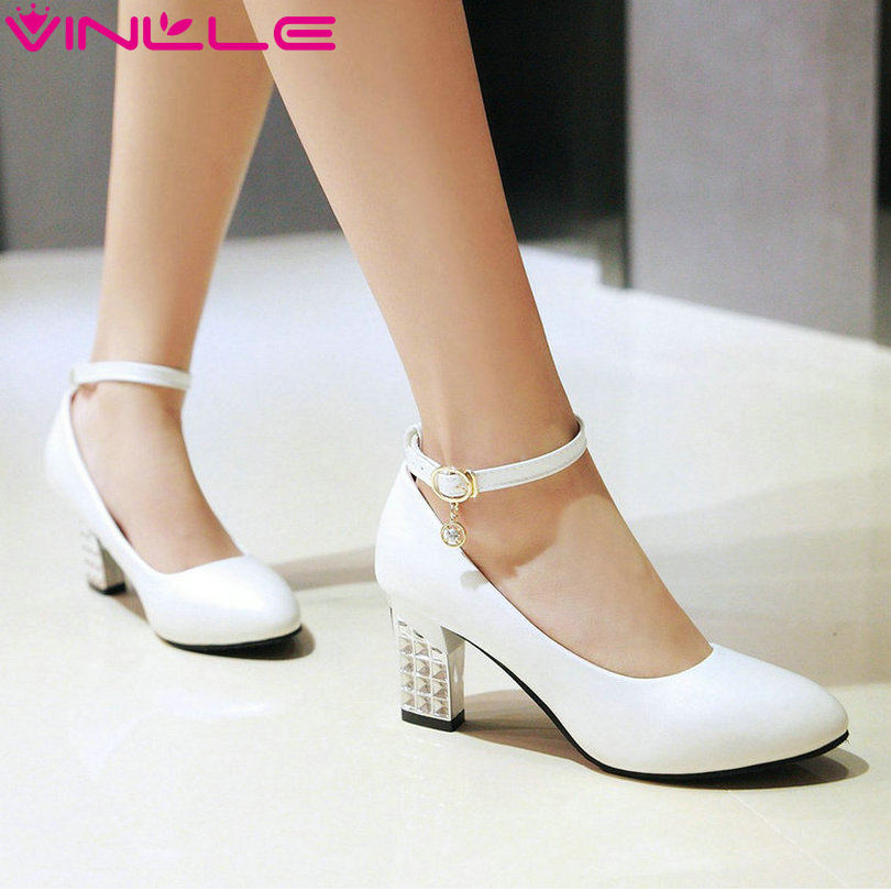 Online Get Cheap White Heel Pumps -Aliexpress.com | Alibaba Group