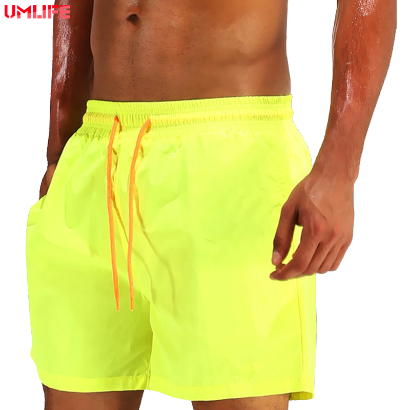 UMLIFE Men Swimming Trunks Briefs Men's Swimsuits Dry Quick Boxer Briefs Sunga Mayo Breathable Beach Shorts Swimwear