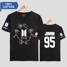 Bangtan7 Army 100% Cotton T-Shirts (Black & White)