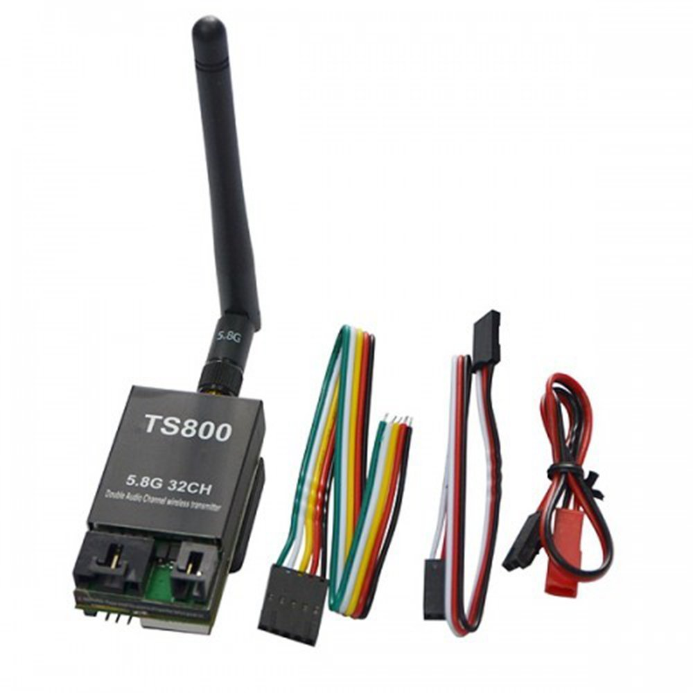 New 5.8G 5.8Ghz 32 Channel 1500mw TS800 FPV Wireless AV Mini Transmitter Tx w/ antenna/LED Display Support AAT Tracking led телевизор panasonic tx 43dr300zz