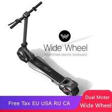 Электрический скейтборд для Widewheel 500 W двух колесных электрических скутеров 48 V Wide Wheel Dual moter скутер