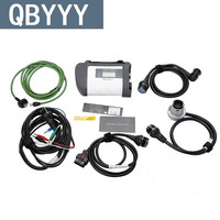 QBYYY Star C4 MUX wireless diagnostic tool for mercedes c4 SD connect UDS protocol supported WIFI SD C4 Star scanner