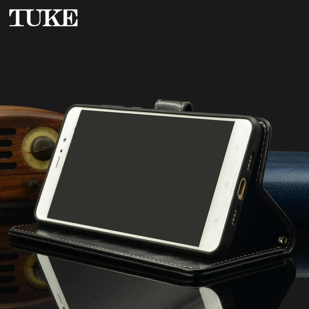 TUKE чехол для huawei Honor 7 масло воск кожаный чехол для huawei Honor7 Флип Бумажник телефон сумка для huawei PLK-AL10 PLK-L01 Капа