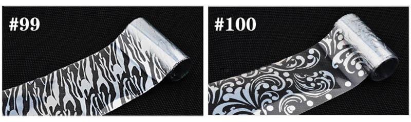 1 Box Nail Starry Star Sticker Laser Metal Heat Transfer Nail Sticker Nail Art Tools 91 100 in Stickers Decals from Beauty Health