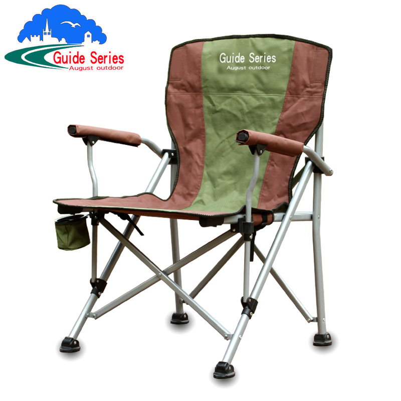 High load bearing 210 kg Sit out outdoor folding chair Director s chair beach camping portable