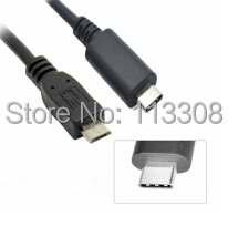 20pcs / lots USB 3.0 3.1 Type C Type-C Male Connector to Micro USB 2.0 Male Data Cable for Tablet  , By DHL UPS 100pcs lots white black usb 2 0 male to micro usb b type 5pin female connector extension cable 10cm by ems fedex dhl ups tnt